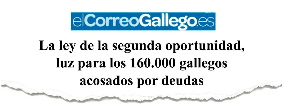 La ley de la segunda oportunidad, luz para los 160.000 gallegos acosados por deudas